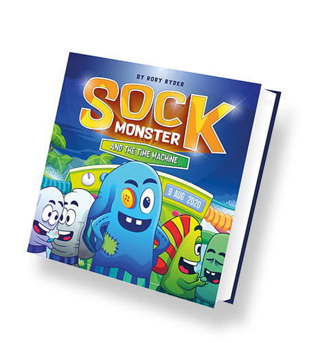Sock Monster & The Time Machine
